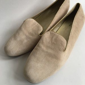 New Seychelles Suede Smoking Flats Loafers Sz 11